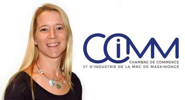 Geneviève Scott-Lafontaine, Chambre de commerce et d'industrie de la MRC de Maskinongé